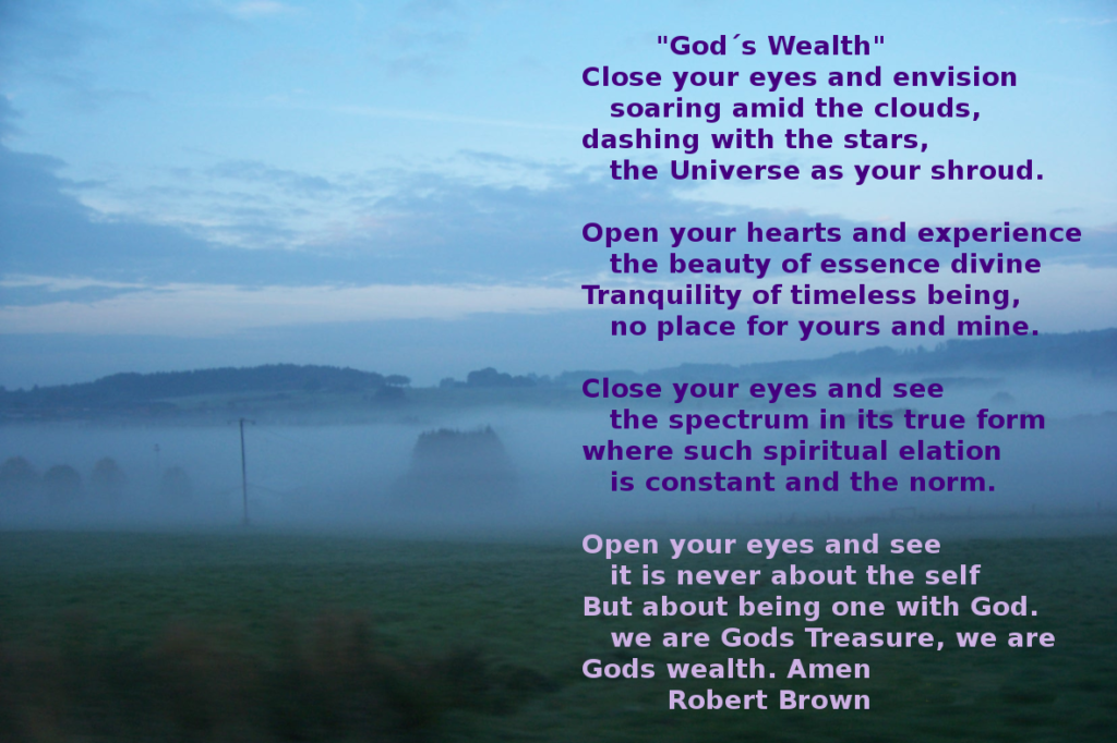 God´s wealth