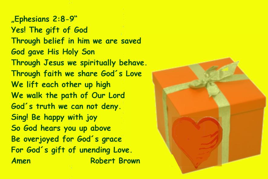 epheser 2: 8 -9