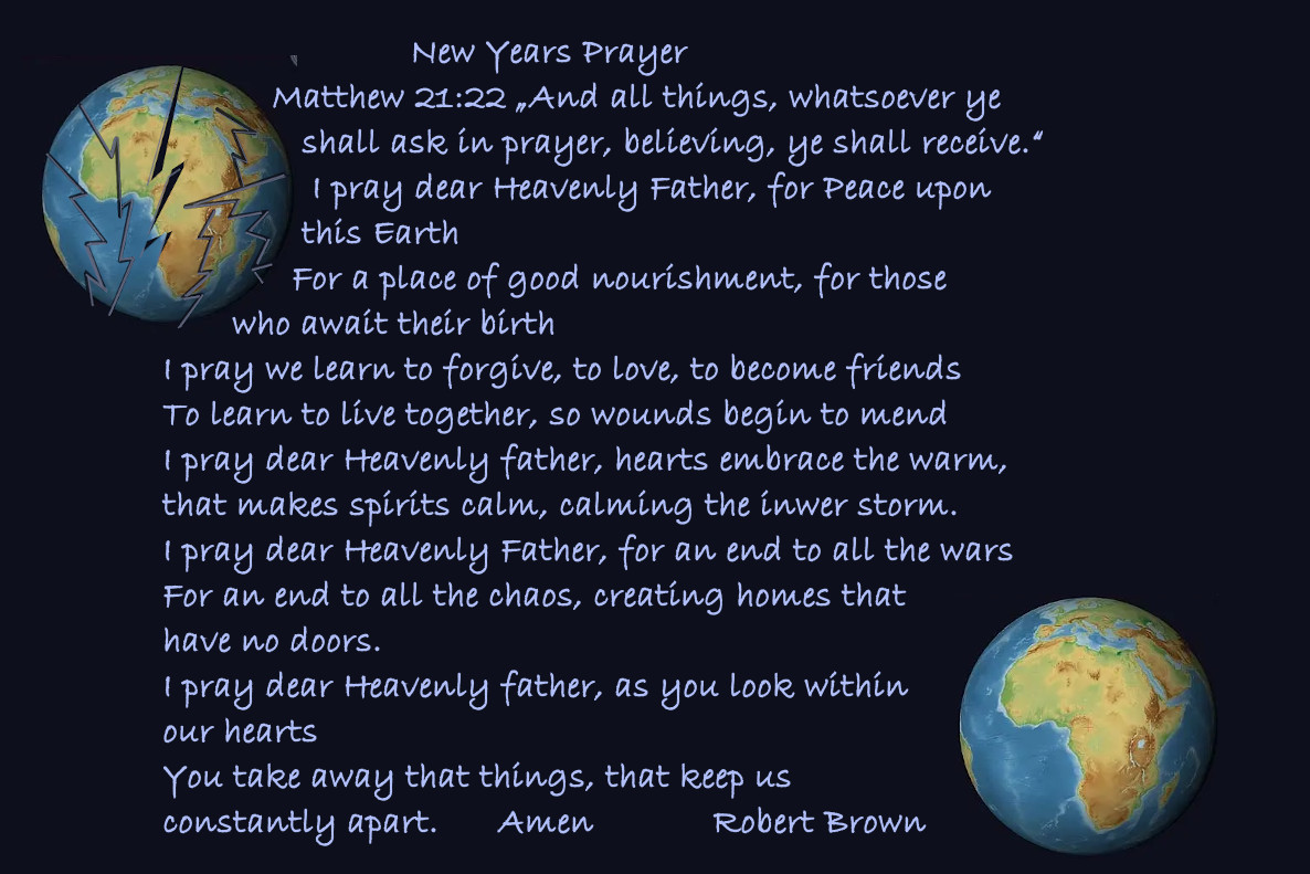 New Yer Prayer