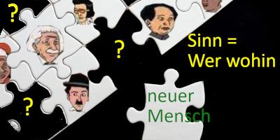 Puzzle mit bekannten Persönlichkeiten