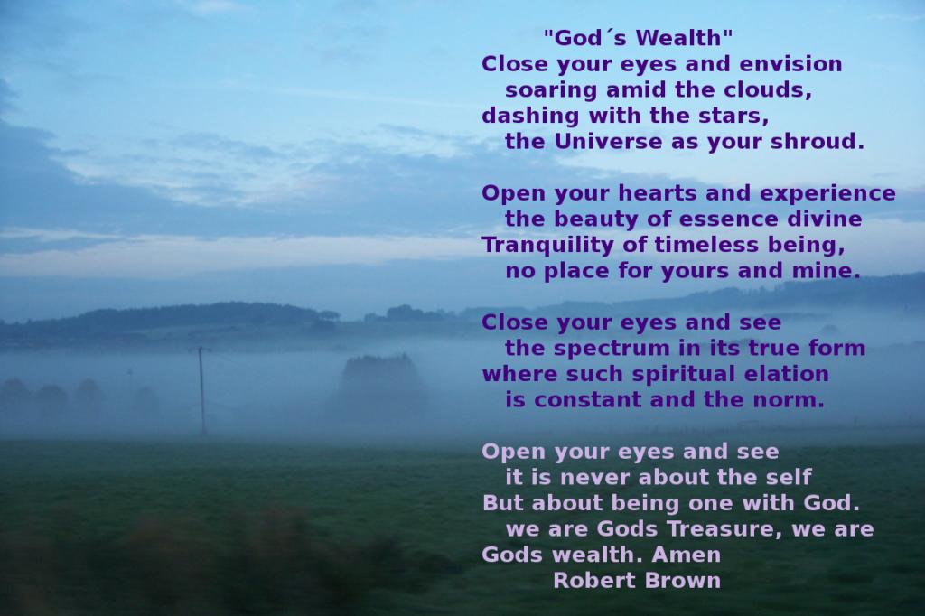 God´s wealth
