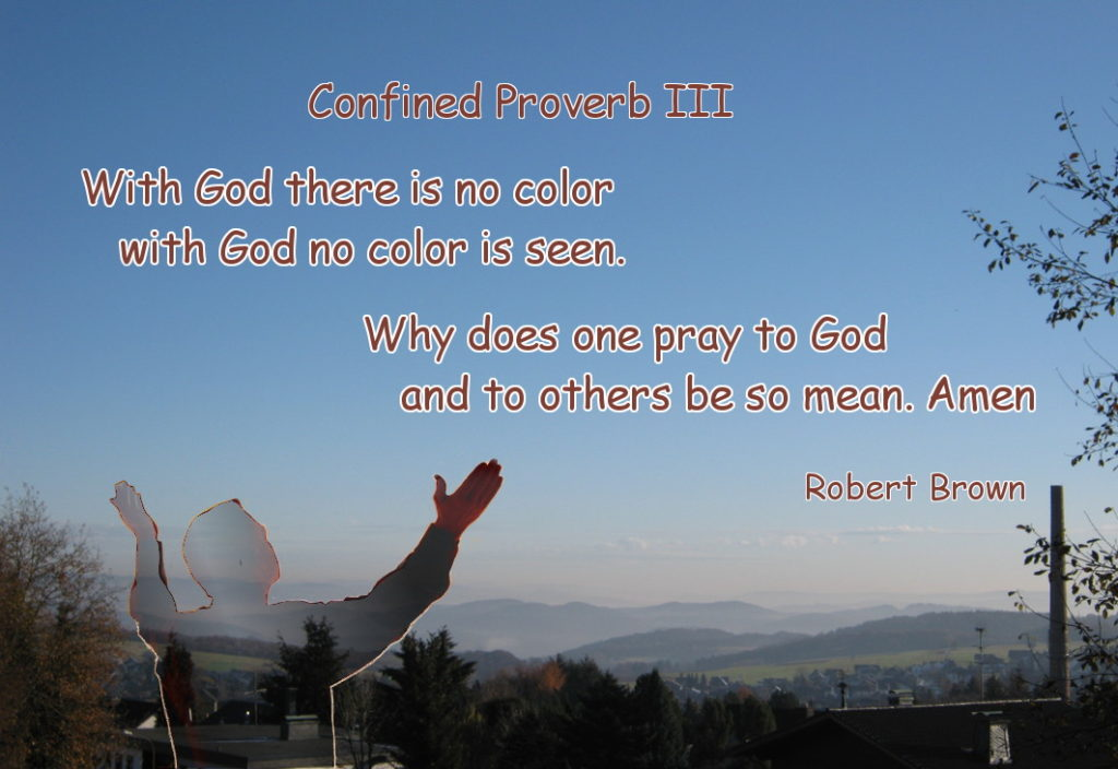 Confined Proverb III