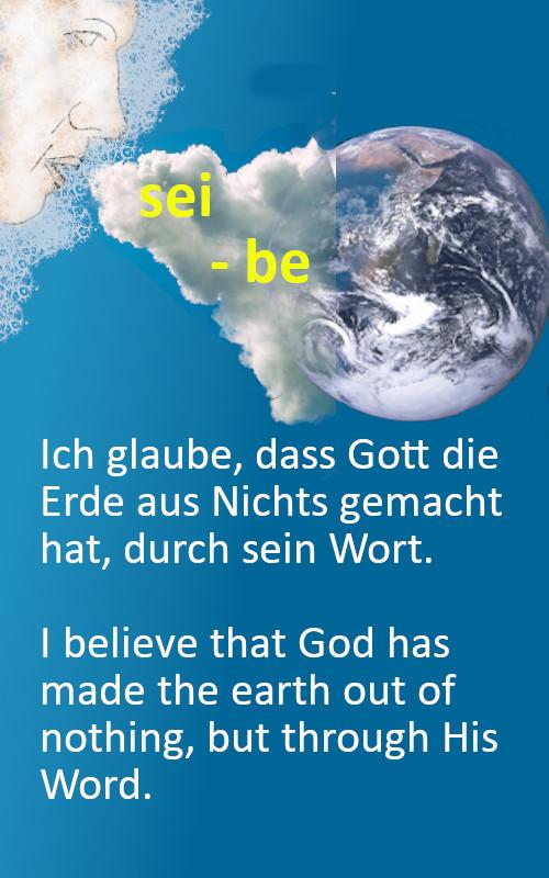 Erde aus Nichts